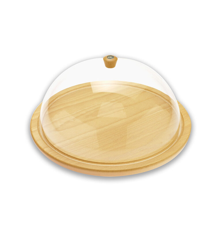 Chese Or Pastry Dome With Tray
