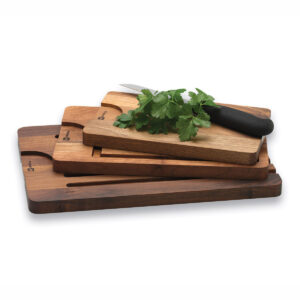 Multiple Wooden Cutting Boards