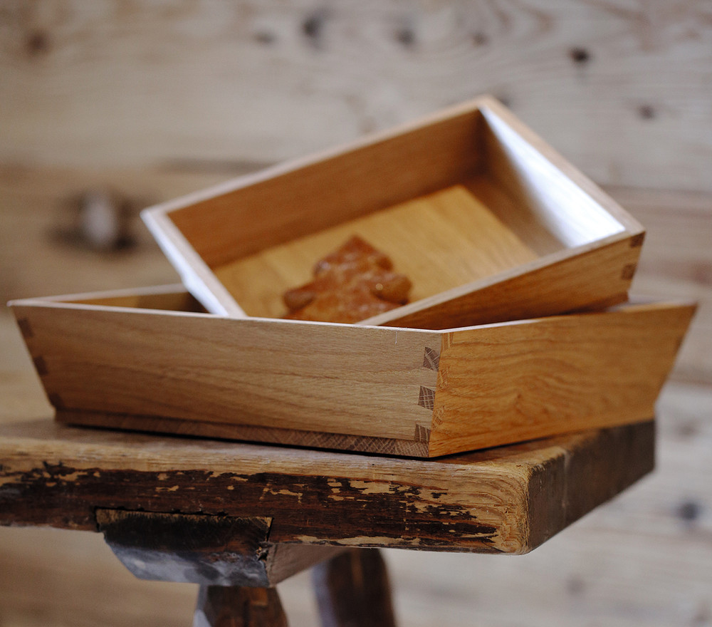 Breka Oak Boxes
